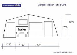 Trailer Sunrooms Two Sunrooms Roof Top Camper Trailer Tent With Aluminum Ladder