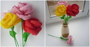 cara membuat bunga dengan kertas hias 8 langkah bikin bunga kertas untuk hiasan di rumah gang lho