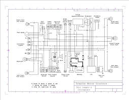 50cc moped wiring diagram jonway scooter automotive printable