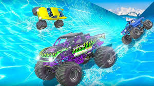 free download monster truck racing games water slide monster truck race android gameplay youtube