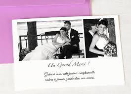 remerciement mariage original mariage carte de remerciement mariage