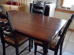 Diy Wood Dining Table Top by Kitchen Design Wonderful Diy Wood Dining Table Farmhouse Style