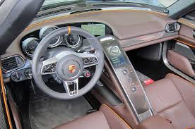 new porsche 918 spyder s1nn explains the porsche 918 spyder infotainment system automobile