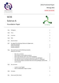 aqa gcse biology 4401 all b1 topics hardest exam questions with