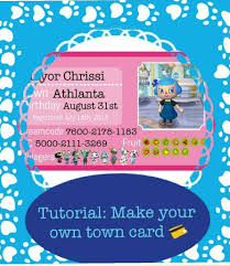 Animal Crossing Town Flag Tutorial Create Your Own Town Card Animal Crossing Amino