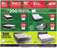 sears black friday ad 2017 sears mattress black friday 2016 ad scan buyvia