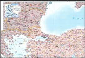 Map Of Northern Europe Republic Of Turkey 2002 Perry Castañeda Map Collection Ut