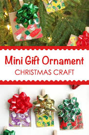 ornament gift easy mini gift christmas ornament craft for kids to make