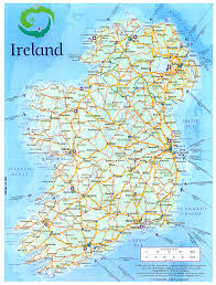 Map Ireland Geography