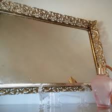 Gold Vanity Mirror Best Vintage Vanity Mirror Products On Wanelo