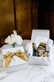 wedding welcome boxes ideas for your lake tahoe wedding welcome bag or box ideas 4