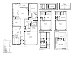 Floor Plan Castle by Sh 4435 Castle Hills Southpointe Shaddock Homes