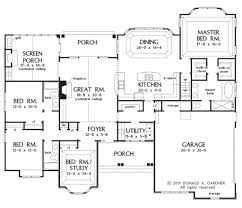 Donald A Gardner Floor Plans by European Style House Plan 4 Beds 3 00 Baths 2453 Sq Ft Plan 929 3