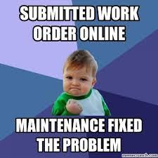 Submit Meme - work order online