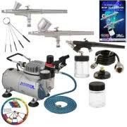 Airbrush System For Cake Decorating Complete Cake Decorating Airbrush System Kit W Food Color Set Air