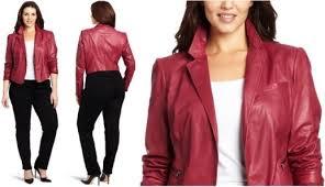 plus size leather jacket always popular sera fox com