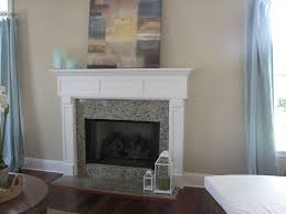 image of gas fireplace surroundantels