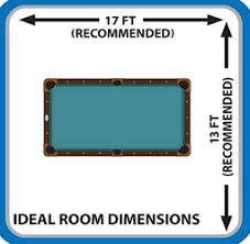 room needed for pool table there s a lot to learn about pool tables start your journey here