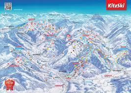 Alps On A Map Pistenplan Kitzbüheler Horn