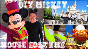mickey mouse halloween costumes diy mickey mouse halloween costume easy u0026 no construction