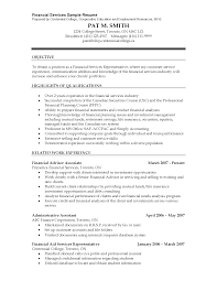 Sample Resume For Financial Analyst by Financial Analyst Intern Resume Sample Job Experience Letter