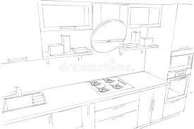 dessiner cuisine dessin cuisine 3d excellent conception cuisine d plans de
