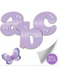 wall letters spell name baby nursery wall decals kids stickers