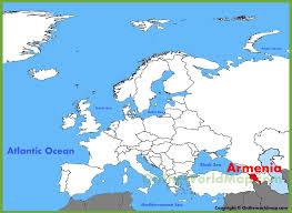 armenia on world map armenia location on the europe map