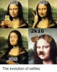 Selfie Meme Funny - 2013 2014 2k16 the evolution of selfies funny meme on me me