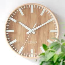 usd 52 97 nordic log wall clock living room creative silent clock