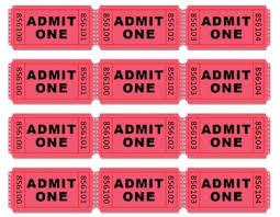 doc 500386 tickets printable u2013 free printable admit one ticket