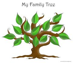 free blank family tree template the non structured family tree
