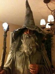 Gandalf Halloween Costume Lord Rings Gandalf Costume White Robe Cape 4 Macbeth