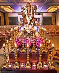 indian wedding reception ganesha statue http maharaniweddings