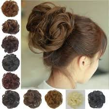 bun scrunchie curly bun hair scrunchie choose your shade in ebay