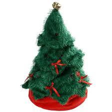32 cm novelty dancing waving and singing christmas tree hat