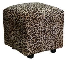 fabric storage cube ottoman wonderful leopard ottoman leopard cube ottoman by leopard fabric