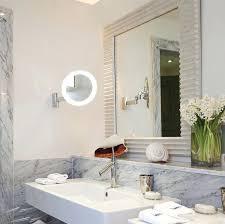 adjustable mirrors bathroomround led bathroom vanity mirror light