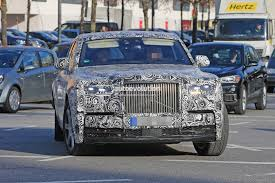 2018 rolls royce phantom spotted in german traffic doesn u0027t hide