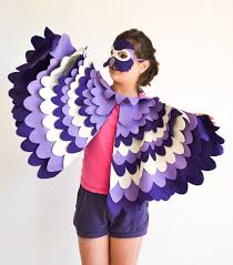 Halloween Costumes Parrots Purple Parrot Costume Kids Bird Costume Bhb Kidstyle