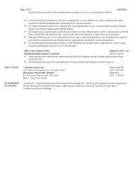 Equity Research Analyst Resume Sample by 16 Fields Related To Business Objects Business Objects Resume