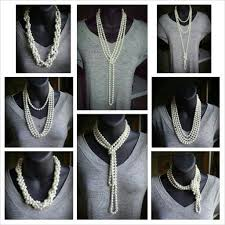 wear long necklace images Long pearl necklace 60 inches 7 8mm freshwater pearl necklace jpg
