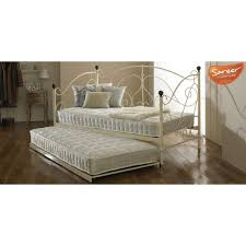 milano day bed with trundle cream