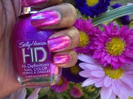 product review sally hansen hd hi definition nail color