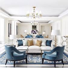 beautiful seating room neutral with a pop of color home