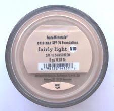bareminerals spf 15 foundation fairly light bare minerals light foundation ebay