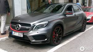 mercedes gla amg mercedes gla 45 amg edition 1 2 may 2016 autogespot
