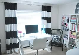 Black And White Stripe Curtains Black And White Curtains With Striped Motif Home Decor