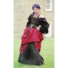 Tudor Halloween Costumes Gypsy Wench Renaissance Costumes Medieval Clothing Madrigal