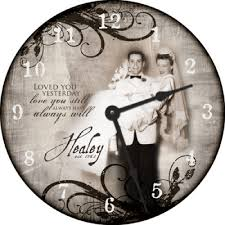 personalized clocks with pictures review personalized design 18 wall clock from for all time clocks